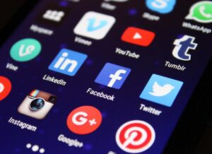 The image is to show that choosing the right social media can boost your online presence