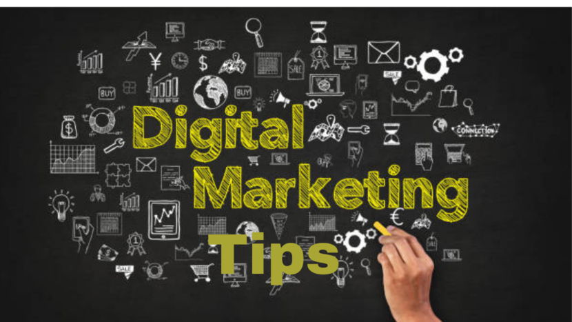 images describing digital marketing tips