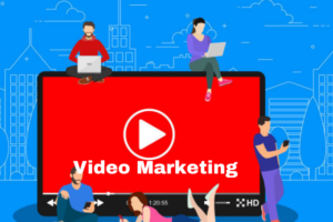 image describing video marketing as a way you can promote your product and services