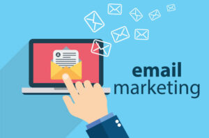 image describing email marketing as a way you can use to promote your products and services