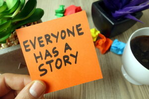 images describing story telling in customerb avatar