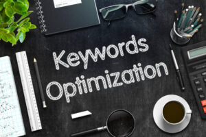 Images describing keyword optimization