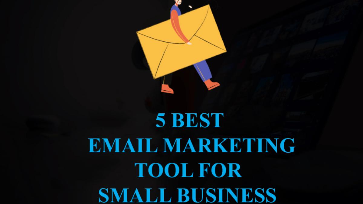 Image describing email marketing tool